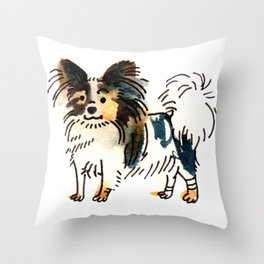 Jasper - Dog Watercolour Throw Pillow