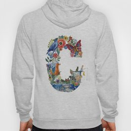 the world of letter C Hoody