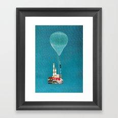 Sky House Framed Art Print
