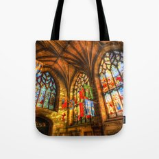 Evening Sun Cathedral Tote Bag