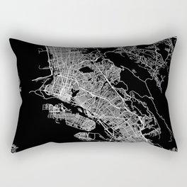 oakland map california Rectangular Pillow
