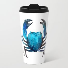 Cerulean blue Crustacean Travel Mug