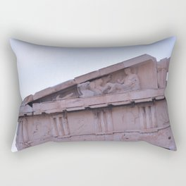 Parthenon Pediment Rectangular Pillow