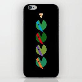 Pac-Turtles iPhone Skin
