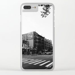 East Village Streets Clear iPhone Case