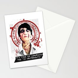 """Silent Hill - It's time to complete the """"21 Sacraments"""" Stationery Cards"""