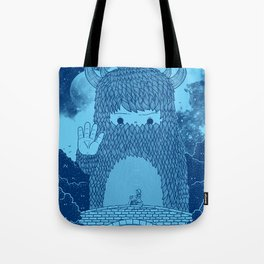 Hello Little Creature Tote Bag