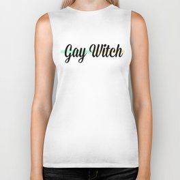 Gay Witch Biker Tank