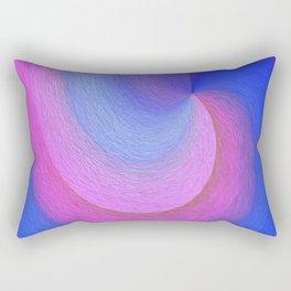 The Point, Blue Rectangular Pillow