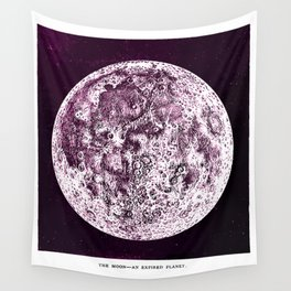 An Expired Planet Wall Tapestry