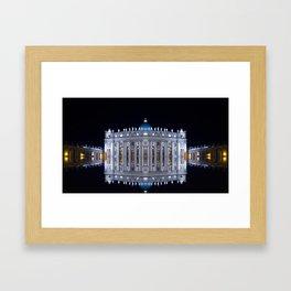 Vatican City Reflexion Framed Art Print