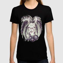 Palm Tree Llama T-shirt