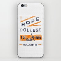 college iPhone & iPod Skins featuring Hope College by Joey Carty