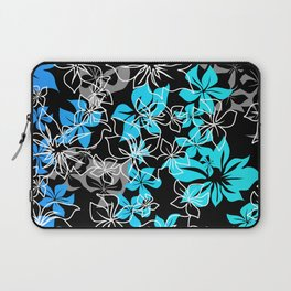 Dancing Hibiscus Hawaiian Aloha Shirt Print Laptop Sleeve