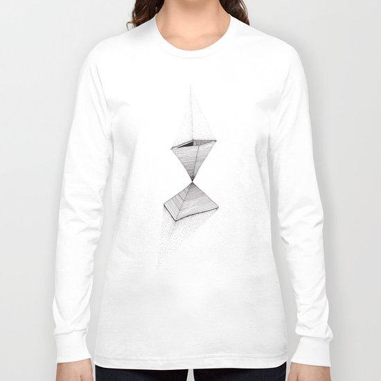 sand pyramids Long Sleeve T-shirt