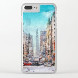 Buenos Aires colors Clear iPhone Case