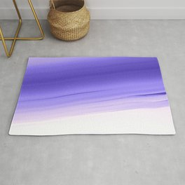 Lavender Smooth Ombre Rug