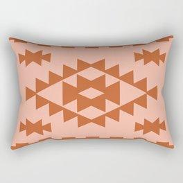 Zili in Peach Rectangular Pillow