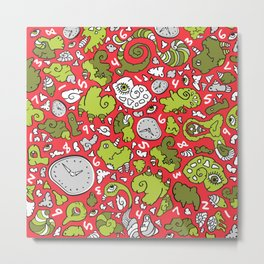 PLAYTIME HOLIDAY Metal Print