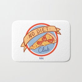 No Diet Club Bath Mat