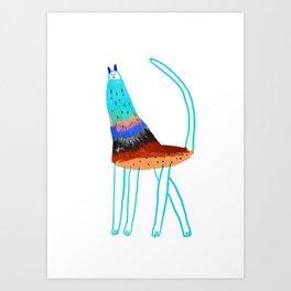 Cat by Ashley Percival. Art Print