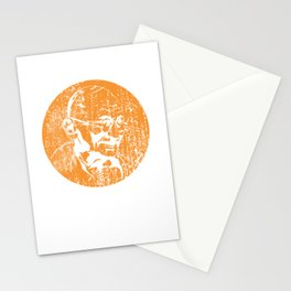 Grungy Gandhi Stationery Cards