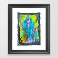 She Will Destroy You Framed Art Print