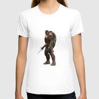 ninja turtle T-shirts featuring ninja,turtle by ira gora