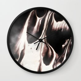 SMOKEY #1 #art #society6 Wall Clock