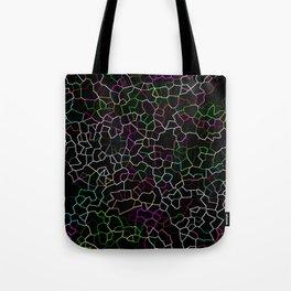 Spring Crackle Tote Bag