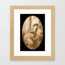 Plea Framed Art Print
