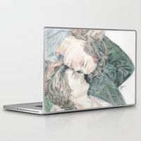 the fault Laptop & iPad Skins featuring THE FAULT IN OUR STARS by Melissa Bather