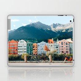 Pastel Houses Innsbruck Laptop & iPad Skin
