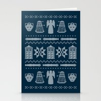 sweater Stationery Cards featuring Who's Sweater by Mandrie