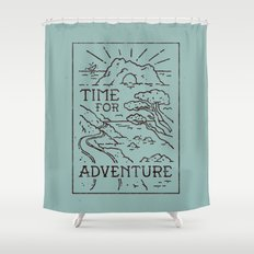 Time For Adventure Shower Curtain