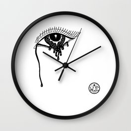 Cosmic Tears Wall Clock