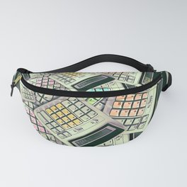 Hello Mathematics is fun Fanny Pack