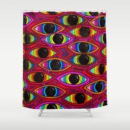 210 - Eyes Shower Curtain