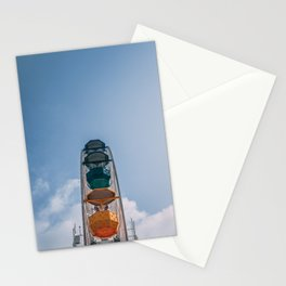 Ferry Wheel at the top of Tibidabo Stationery Cards