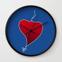 Heat Beat Wall Clock