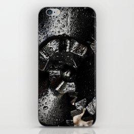 Black Tricone Drill Bit iPhone Skin