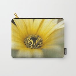 Mom's Yellow Daisy Carry-All Pouch
