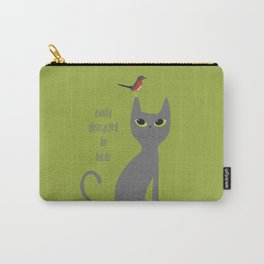 Easily Distracted By Birds Carry-All Pouch