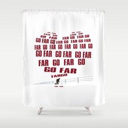 Go Far Shower Curtain