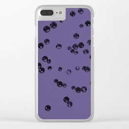 Ultra Violet Crystal Stones #3 #shiny #decor #art #society6 Clear iPhone Case