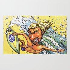 Brazilian Surf Boy Rug