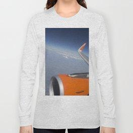 Flying On The Edge Of Heaven Long Sleeve T-shirt