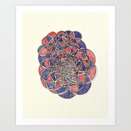circles pt. 2 Art Print