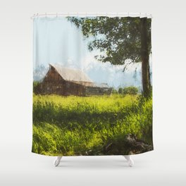 Into the Fields Shower Curtain
