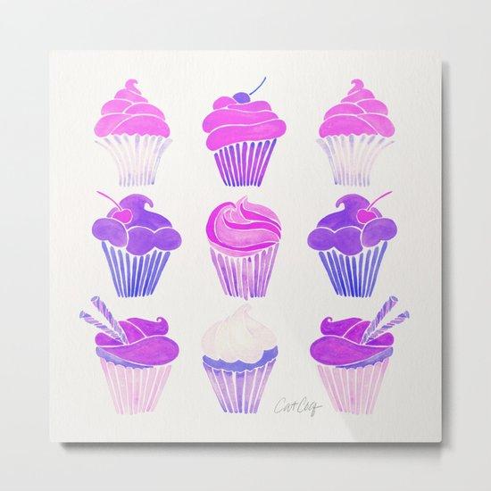 Cupcake Collection – Unicorn Palette Metal Print
